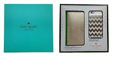 Kate Spade NY Gift Set Box iPhone 6 Plus & 6S Plus Gold Wristlet & Chevron Case