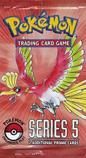 ENGLISH POP #5 Pokemon pack PROMO Booster Packs RARE & SEALED!!