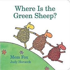 Where Is the Green Sheep? Hardcover, Board Book  9780152067045
