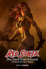 RED SONJA SHE-DEVIL WITH A SWORD PREMIUM FORMAT FIGURE BY SIDESHOW COLLECTIBLES