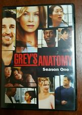 2006 Grey's Anatomy - Season 1 (2-Disc DVD Set) Ellen Pompeo, Patrick Dempsey