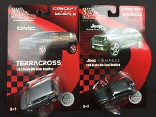 RACING CHAMPIONS CONCEPT AND MUSCLE LOT OF 2 GMC AND JEEP