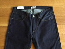 ACNE STUDIOS NEW Mens MAX RAW Mens Denim Blue Jeans Size 33 x 34 $230 NWT