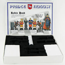 Prince August Hobby Casting Robin Hood Nottingham Chess Sets moulds molds PA720