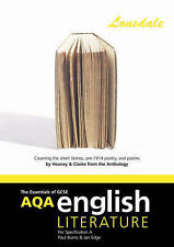 AQA GCSE English Literature a Short Stories Pre-1914 Poetry: Heaney and Clarke (