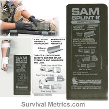 SAM Splint II Tactical & Military Splint