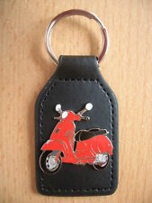Keyring Piaggio Vespa GTS red Scooter Art 1137 Scooter Motorbike