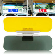Car Anti-Glare Dazzle Goggle Mirror Day Night Driving Sun Visors Extension Kit