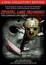 """Crystal Lake Memories: The Complete History of """"Friday the 13th"""" (DVD, 2015,..."""