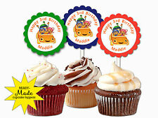 TEAM UMIZOOMI themed personalized cupcake toppers birthday party favors supply