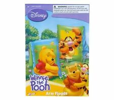 Disney Winnie The Pooh & Tigger Kids Swim Arm Floats Pool Floaties 3+ NIP