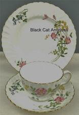 "Delightful Minton England ""Dainty Sprays"" Bone China Trio Cup & Saucer & Plate"