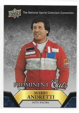 2015 UD Prominent Cuts Mario Andretti NSCC Nationals Redemption Card