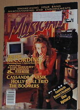 Jane Siberry,Holly Cole Trio,Cassandra Vasik Oct 1993 Canadian Musician magazine