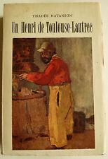 Thadeé Natanson, Thadeé Natanson Toulouse-Lautrec, Kunst, Henri Toulouse-Lautrec