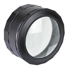5-7x Zoom Magnifying Glass Magnifier & LED Touch Light w/Cleaning Cloth & Case