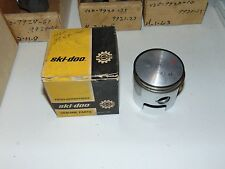 Nos OEM Vintage Skidoo 399 401 Rotax Snowmobile 65 mm Piston 420-9859-75