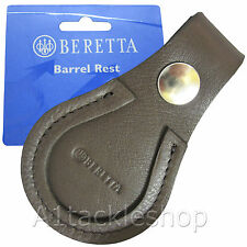 Beretta Brown Leather Shotgun Barrel / Shoe Toe Protector