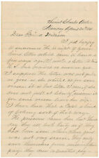 Civil War Dated Autograph Letter Signed Union Soldier: Abraham Lincoln