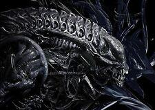 Cartel de tela posicional Alien A3 re
