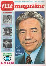 ▬►Télé Magazine 1073 (1976) JEAN-PIERE DARRAS_FRITZ LANG_PIERRE BELLEMARE_VARTAN