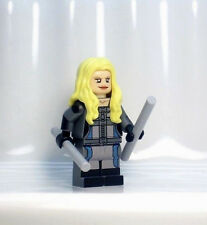 A1292 Lego CUSTOM PRINTED Agents of Shield Avengers game BOBBI MORSE MINIFIG