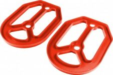 Apico PRO-BITE Foot Pegs Footrests SILICONE RUBBER UNDER PLATE RED UNIVERSAL