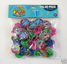 48 Religious Rings Cupcake Topper Kid VBS Church Party Goody Bag Favor Supply