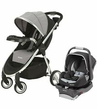 Recaro Denali Stroller and Performance Coupe Car Seat - Granite - Travel System