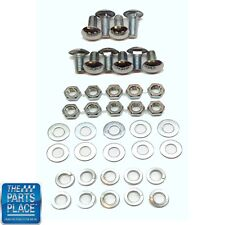 1959-65 Chevrolet Impala Front And Rear Bumper Bolt Kit
