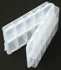 20 Compartment Double Sided Dry Fly Box, Trout Fly Fishing     *FREE P&P*