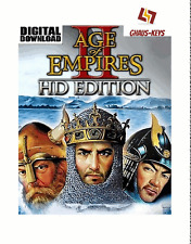 Age of Empires II 2 HD STEAM PC GAME Key Download Nuovo codice Global [SPEDIZIONE LAMPO]