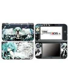 N3 Miku  DECAL Skin case Cover for NEW Nintendo 3DS XL LL Sticker