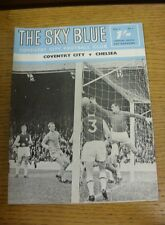10/09/1968 Coventry City v Chelsea  (Light Crease, Rusty Staples).  We are pleas
