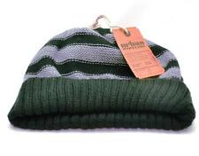 Winter Urban Pipeline Men Women Black Gray Warm Beanie Stripe Knit Hat 0065
