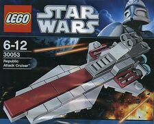 Lego Star Wars The Clone Wars Republic Attack Cruiser venator clase 30053