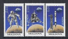 1994 Moldova SC 115-117 - Europa Space Set of 3 - MNH*