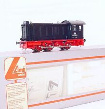 Lima HO DC 1:87 German DB BR V-36 Medium Black DIESEL LOCOMOTIVE + Acc. MIB`88!