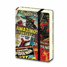MARVEL COMIC COVERS RETRO A7 POCKET NOTEBOOK NEW LINED OFFICIAL MERCHANDISE