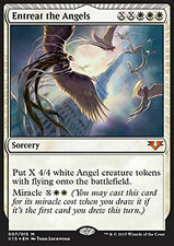 MTG ENTREAT THE ANGELS FOIL - SUPPLICARE GLI ANGELI - FTV - MAGIC