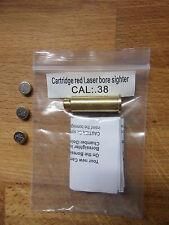 CARTUCCIA LASER COLLIMATORE REVOLVER CAL 38 / 357 Laser Bore Sight BoreSighter