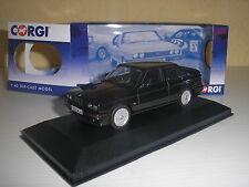 BMW 325i (e30) noir sport M-technique rhd dans 1:43 de CORGI vanguards