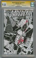 DAREDEVIL #1 AUTHENTIX CGC 9.8 SIGNATURE SERIES SIGNED STAN LEE & JOE QUESADA