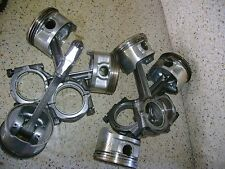 1989 Honda Goldwing GL1500 GL 1500 H5 Engine Pistons Rods Parts