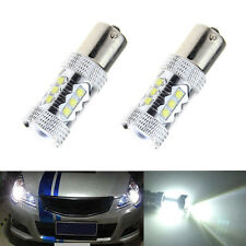 2Pcs 80W 1156 BA15S CREE 16LED Car Tail Turn Reverse Light Bulb Lamps  White