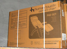 NEW PERFECT CHAIR ZERO ANTI GRAVITY RECLINER PAD SET ONLY - Ivory Leather Defect
