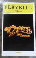CHEERS LIVE ON STAGE PLAYBILL CHICAGO BROADWAY PLAYHOUSE