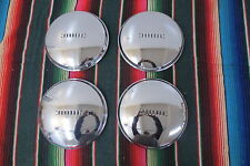 VINTAGE 1939 1940 BUICK REPRODUCTION HUB CAPS NOS NORS DOG DISH HUBCAPS