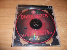Death Match The Ultimate Game Player's Kit Version 1 (2-CD Set 1996) NEW