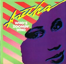 """ARETHA FRANKLIN who's zoomin' who ARIST 12633 uk arista 12"""" PS EX/EX"""